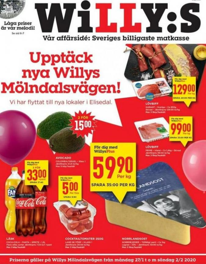 Willys reklamblad . Willys (2020-02-02-2020-02-02)
