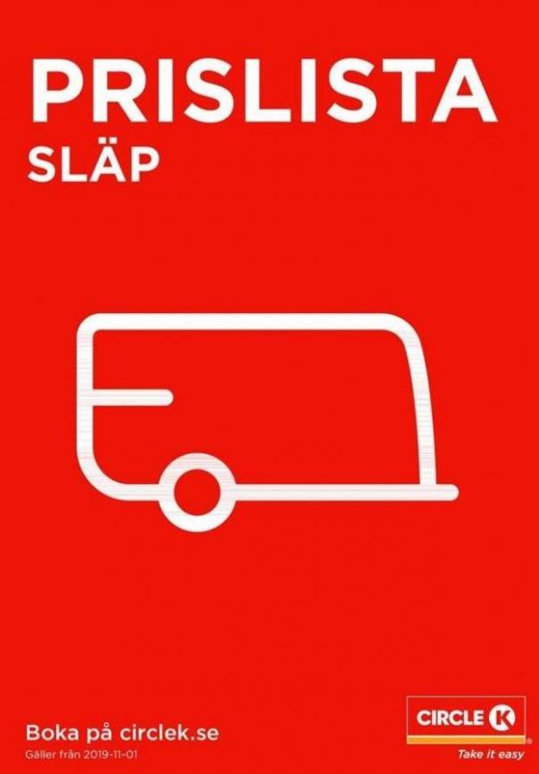 Prislista Slap . Circle K (2020-03-31-2020-03-31)