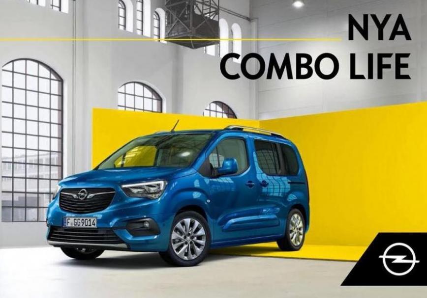 Opel Combo Life . Opel (2020-12-31-2020-12-31)