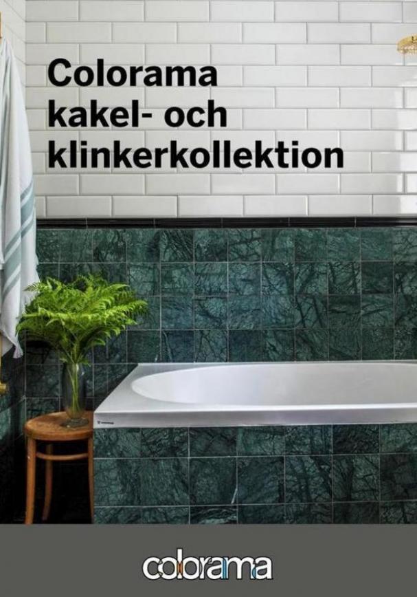 Colorama Erbjudande Kakel- och Klinkerkollektion . Colorama (2020-02-29-2020-02-29)