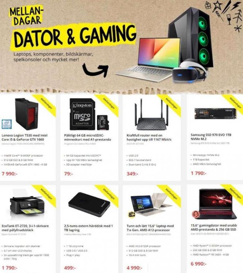 Net On Net Erbjudande Kampanjblad . Page 3