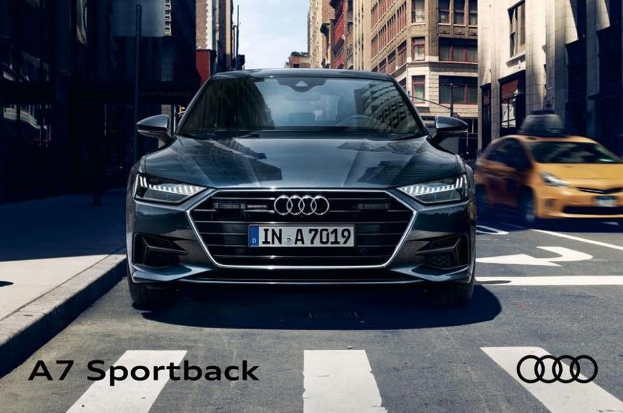 Audi A7 Sportback . Audi (2020-12-31-2020-12-31)