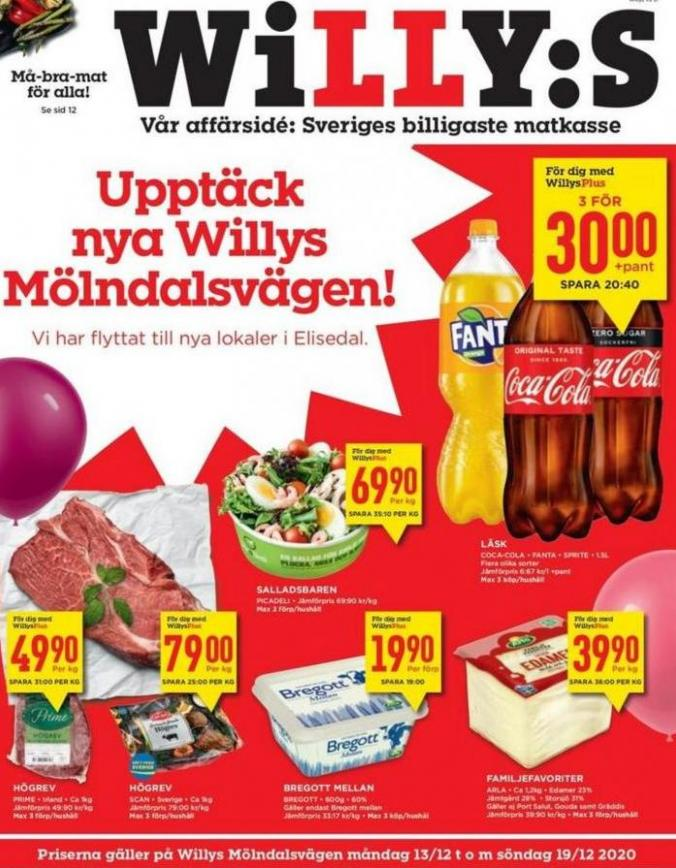 Willys reklamblad . Willys (2020-01-19-2020-01-19)