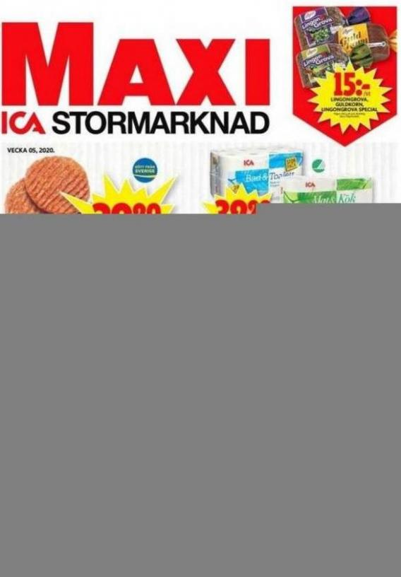 ICA Maxi Erbjudanden . ICA Maxi (2020-02-02-2020-02-02)
