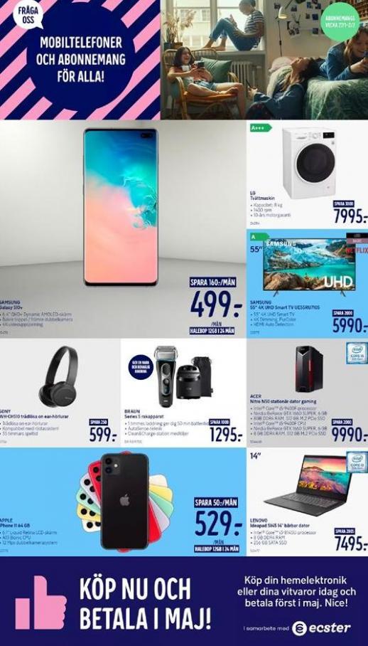 Elgiganten Erbjudande Mobiltelefoner och Abonnemang för alla! . Elgiganten (2020-02-02-2020-02-02)
