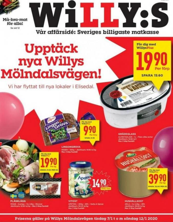 Willys reklamblad . Willys (2020-01-12-2020-01-12)