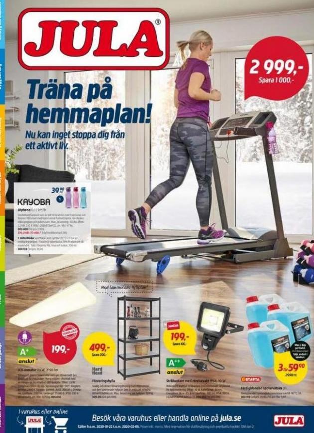 Träna på hemmaplan! . Jula (2020-02-05-2020-02-05)