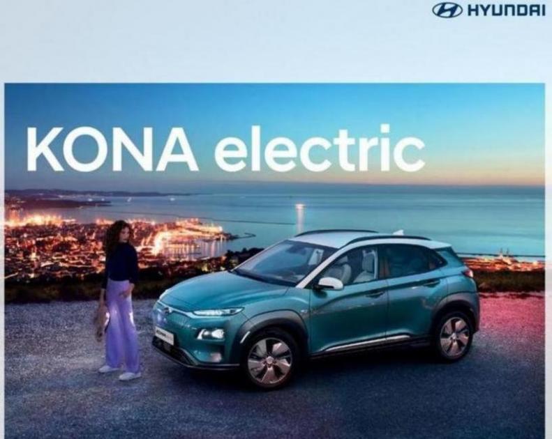 Hyundai Kona electric . Hyundai (2020-12-31-2020-12-31)
