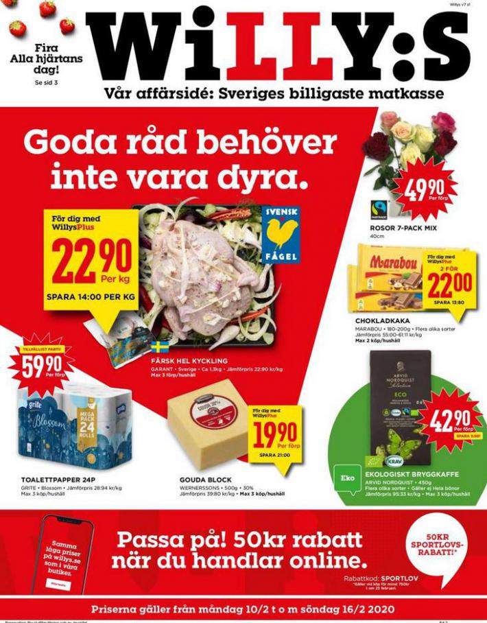 Willys reklamblad . Willys (2020-02-16-2020-02-16)