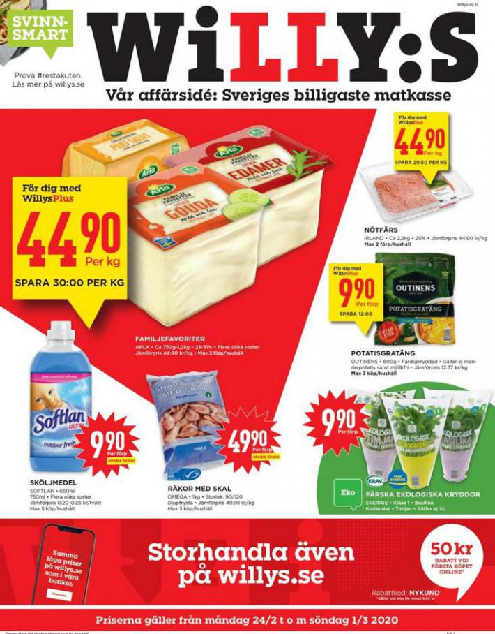Willys reklamblad . Willys (2020-03-01-2020-03-01)