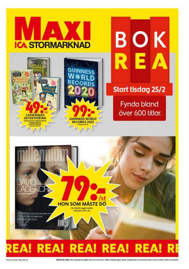 ICA Maxi Erbjudanden . ICA Maxi (2020-03-01-2020-03-01)