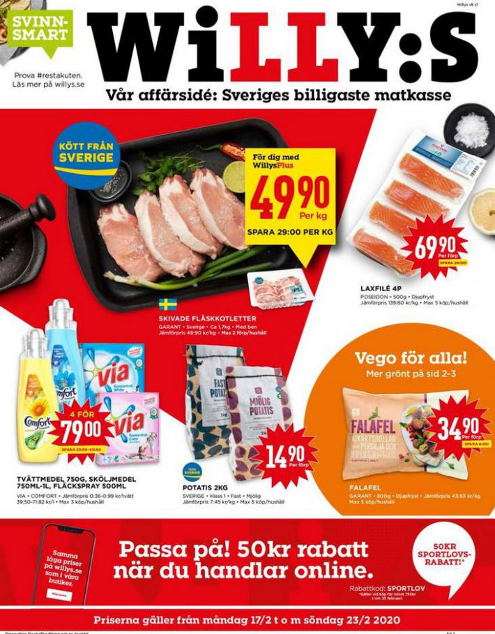 Willys reklamblad . Willys (2020-02-23-2020-02-23)