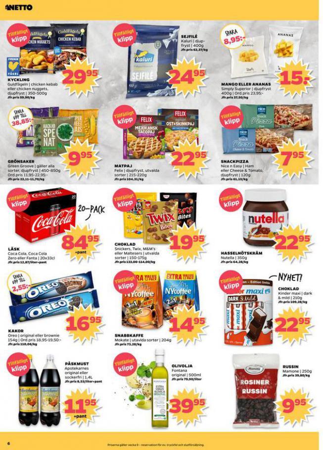 Nettobladet v9 2020 . Page 6