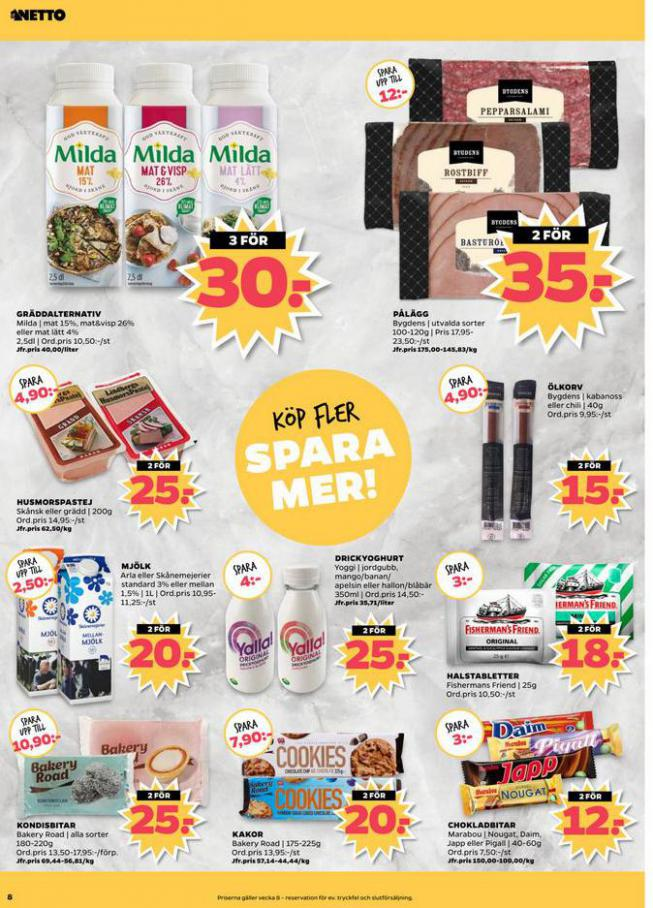 Nettobladet v8 2020 . Page 8