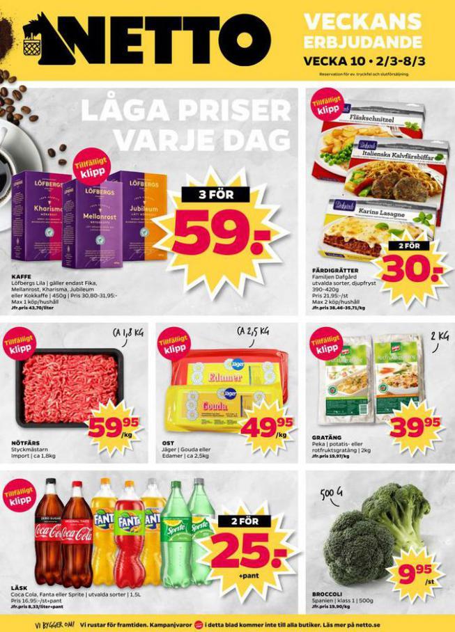 Nettobladet v10 2020 . Netto (2020-03-08-2020-03-08)