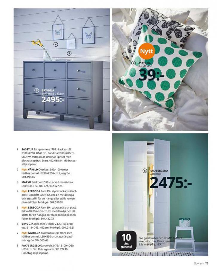 IKEA Katalogen 2020 . Page 75