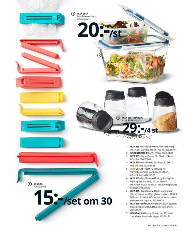 IKEA Katalogen 2020 . Page 61
