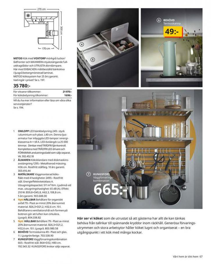 IKEA Katalogen 2020 . Page 67