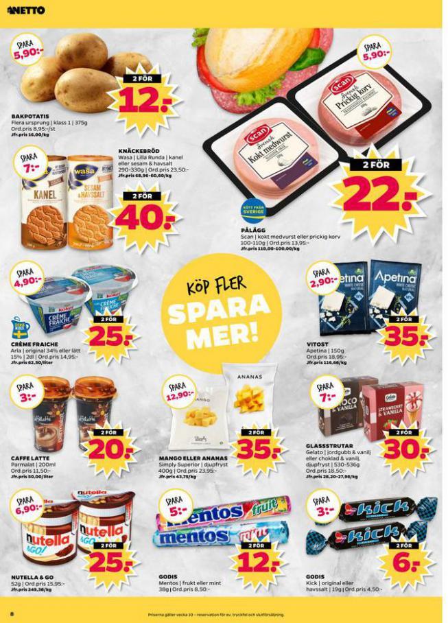 Nettobladet v10 2020 . Page 8