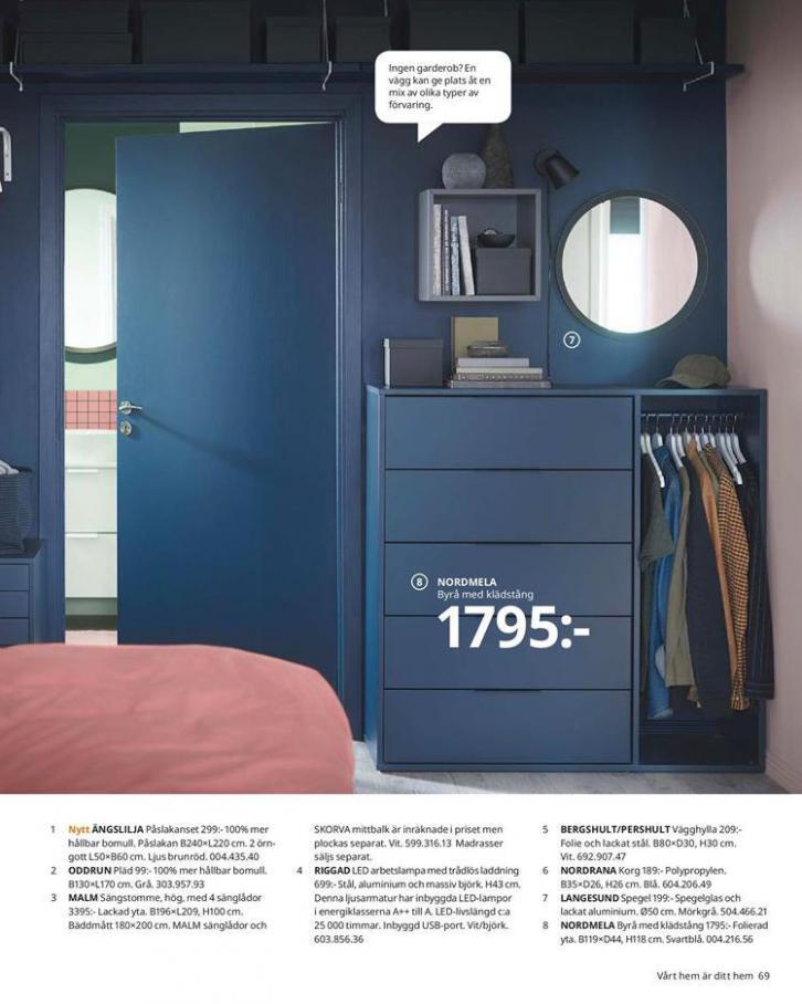 IKEA Katalogen 2020 . Page 69