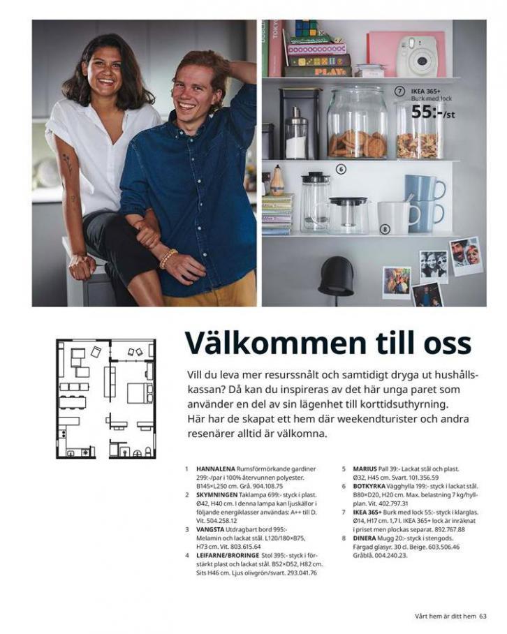 IKEA Katalogen 2020 . Page 63