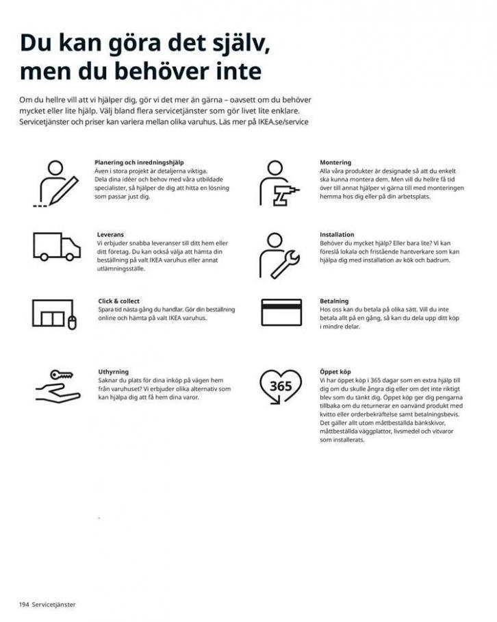 IKEA Katalogen 2020 . Page 194