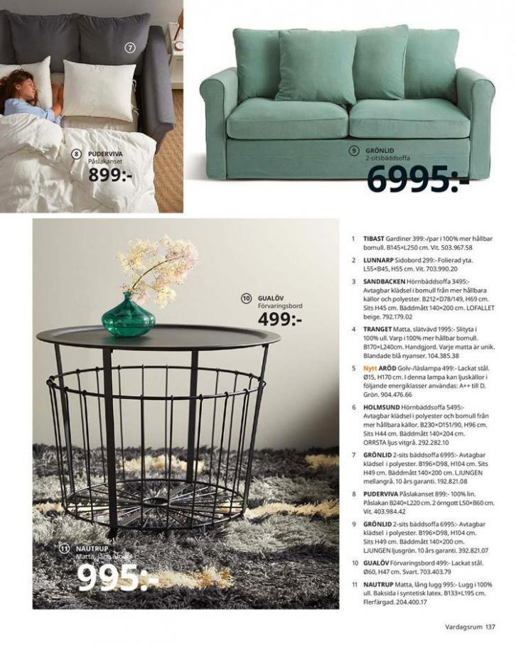 IKEA Katalogen 2020 . Page 137