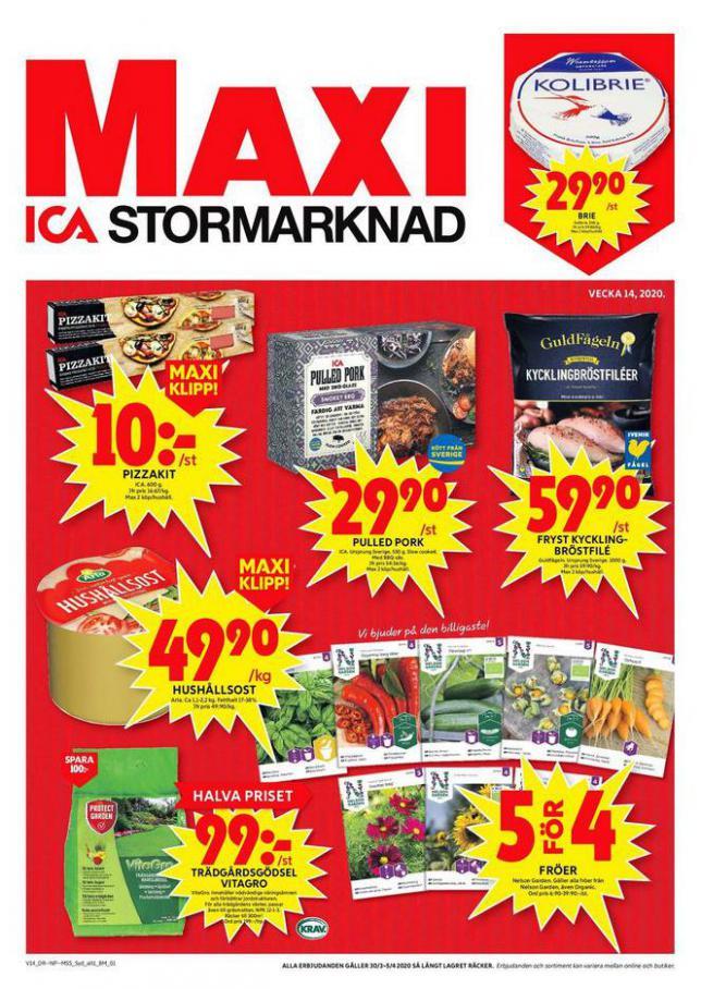 ICA Maxi Erbjudanden . ICA Maxi (2020-04-05-2020-04-05)