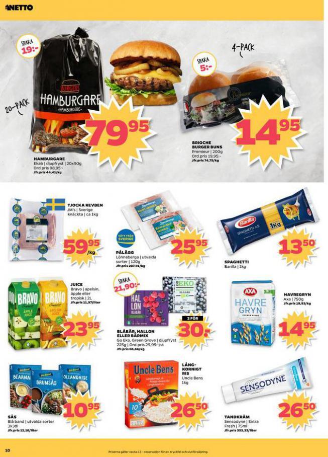 Nettobladet v13 2020 . Page 10