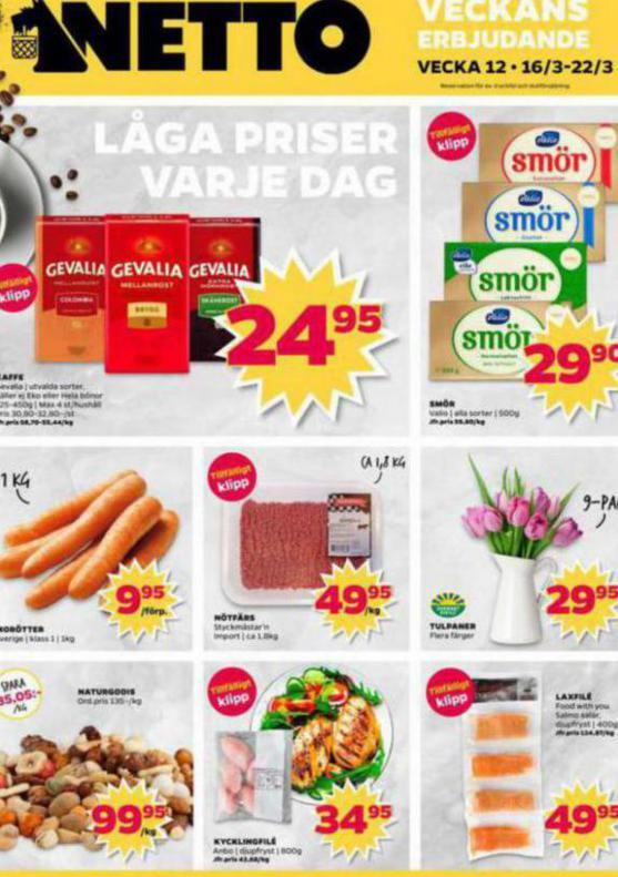 Nettobladet v12 2020 . Netto (2020-03-22-2020-03-22)