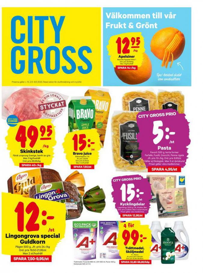 City Gross reklamblad . City Gross (2020-03-08-2020-03-08)