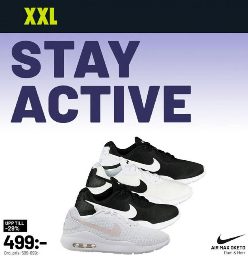 XXL Erbjudande Stay Active . XXL (2020-04-05-2020-04-05)