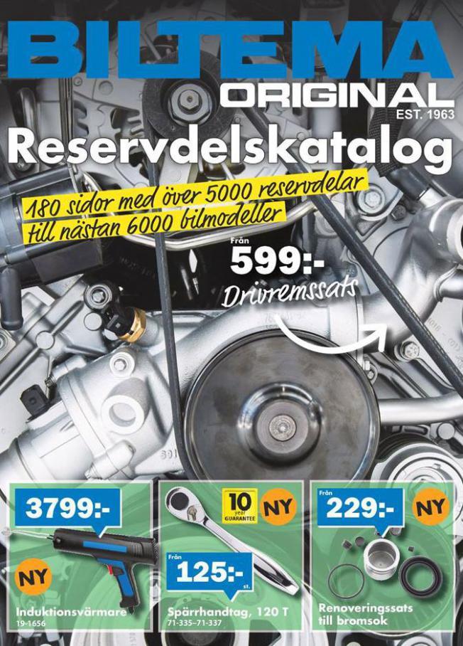 Biltema Erbjudande Original Reservdelskatalog . Biltema (2020-09-30-2020-09-30)