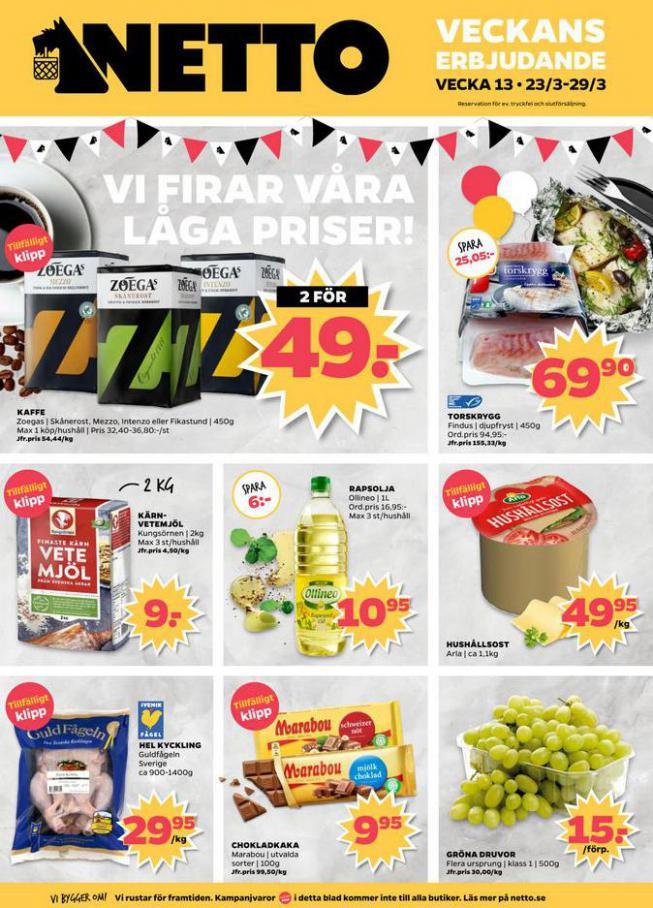 Nettobladet v13 2020 . Netto (2020-03-29-2020-03-29)