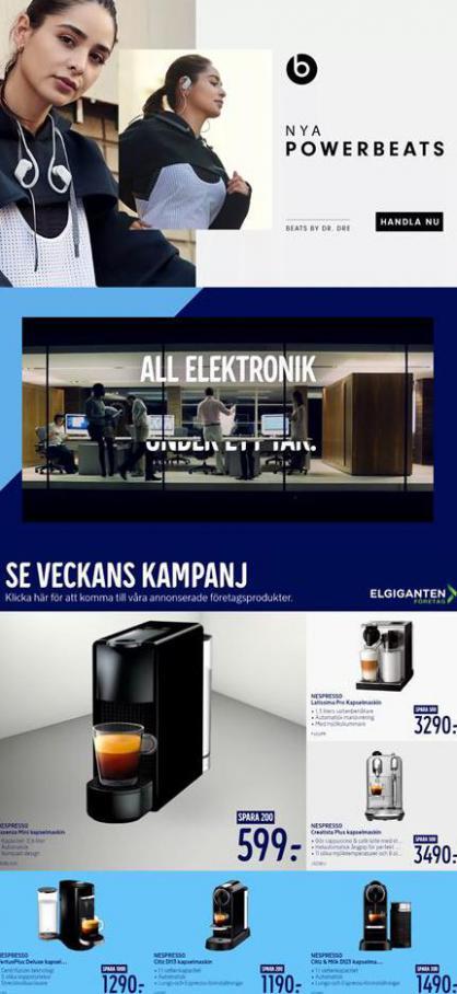 Elgiganten Erbjudande Boka Online, Hämta I Butik . Page 9