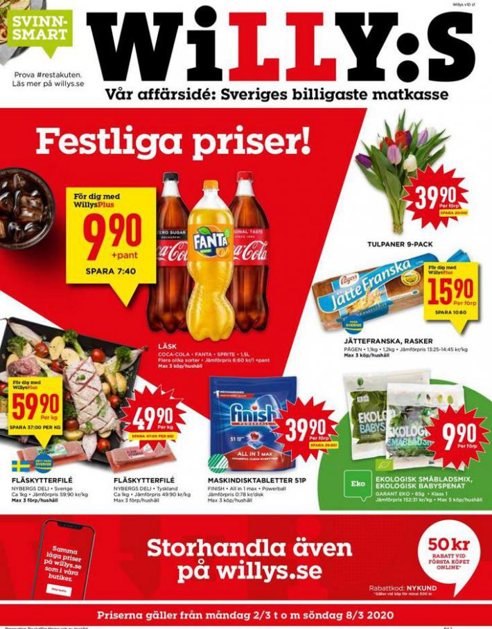 Willys reklamblad . Willys (2020-03-08-2020-03-08)