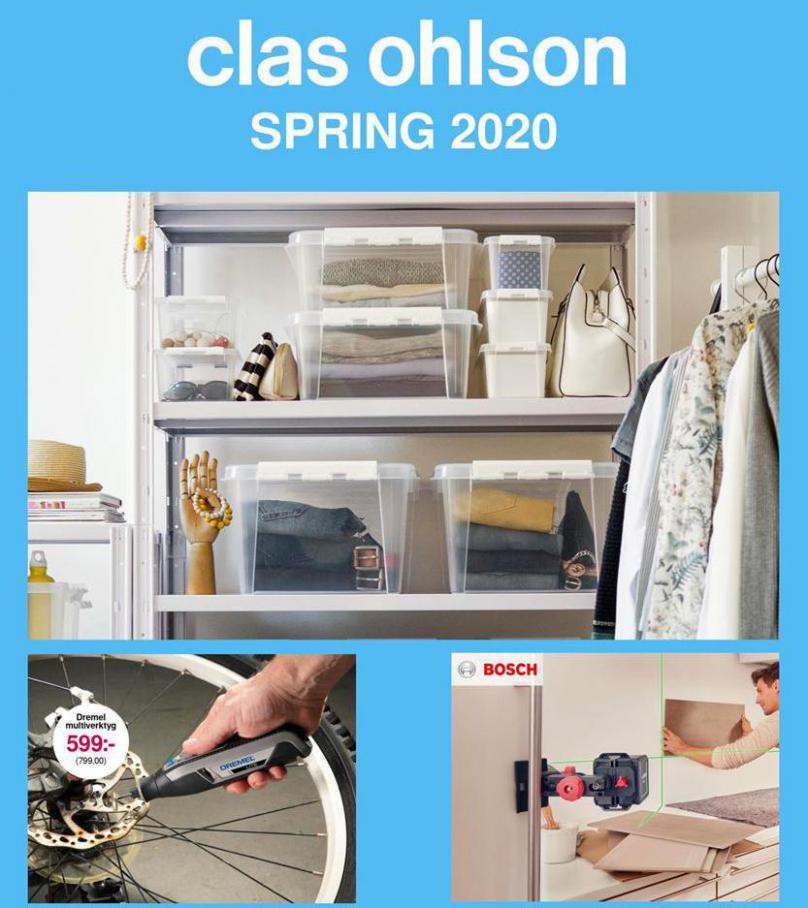 Clas Ohlson Erbjudande Spring 2020 . Clas Ohlson (2020-05-31-2020-05-31)