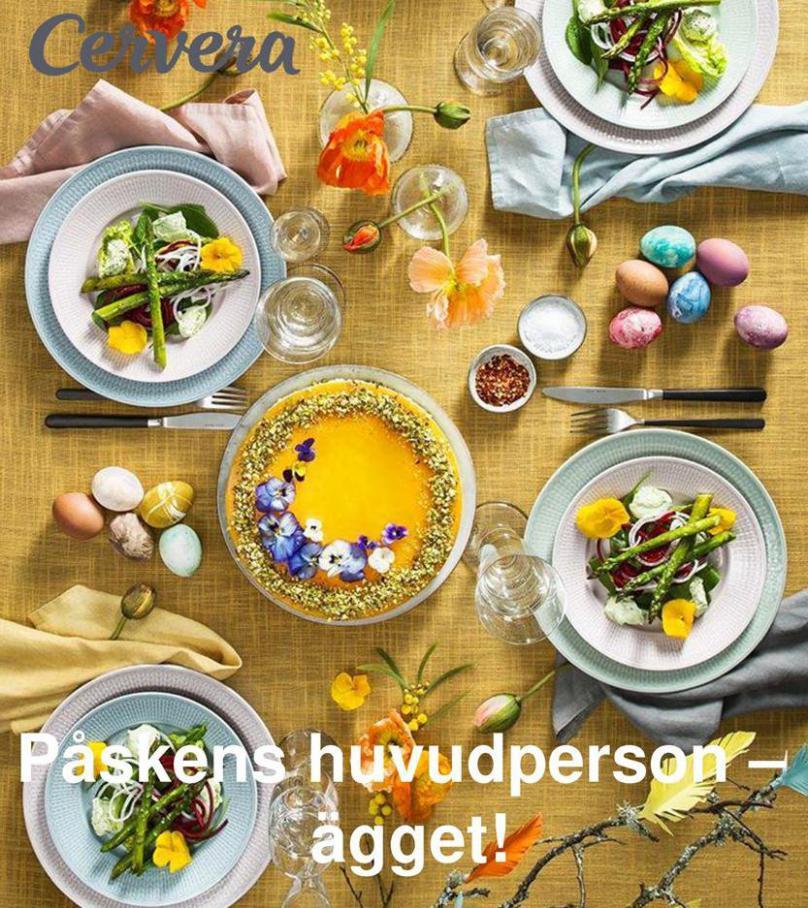 Cervera Erbjudande Påskens huvudperson –  ägget! . Cervera (2020-04-30-2020-04-30)