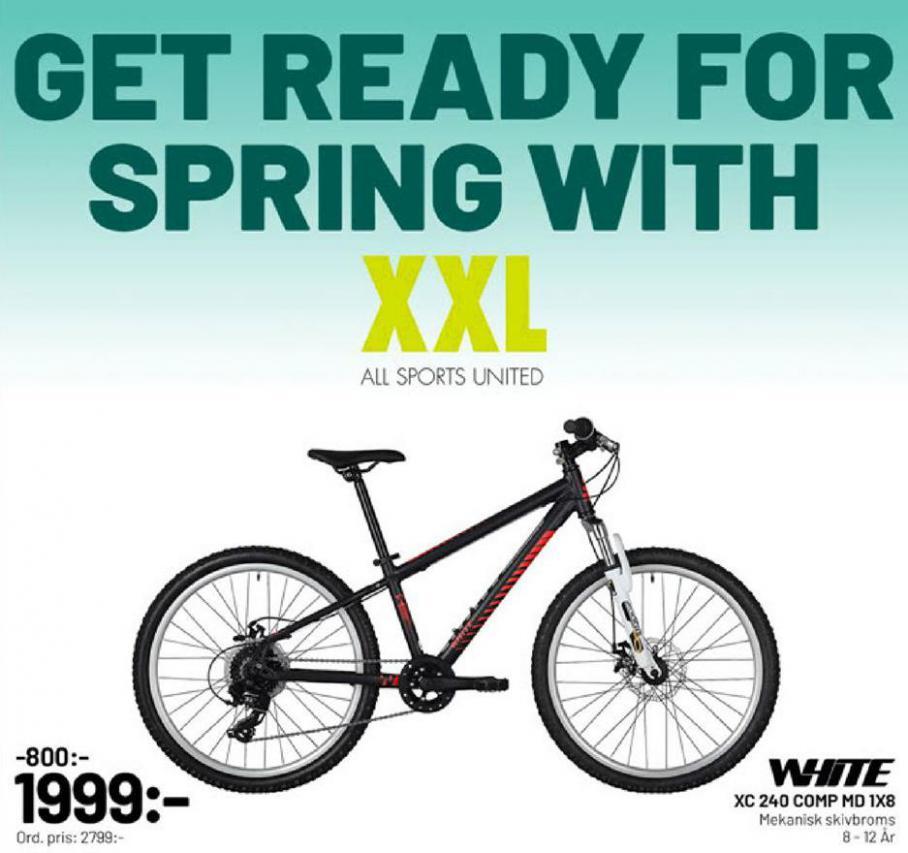 XXL Erbjudande Get ready for Spring with XXL! . XXL (2020-03-22-2020-03-22)