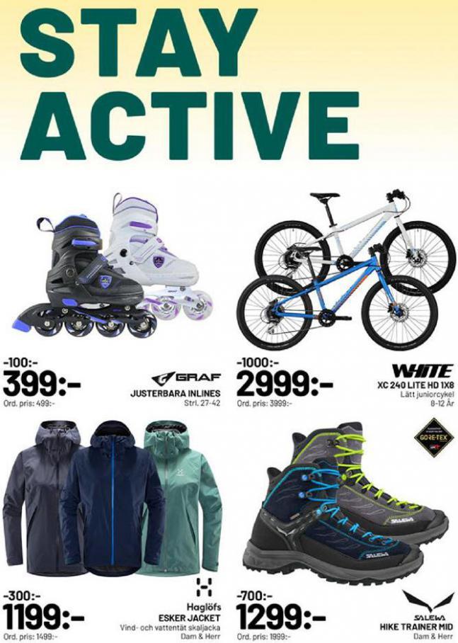 XXL Erbjudande Stay Active . XXL (2020-03-29-2020-03-29)