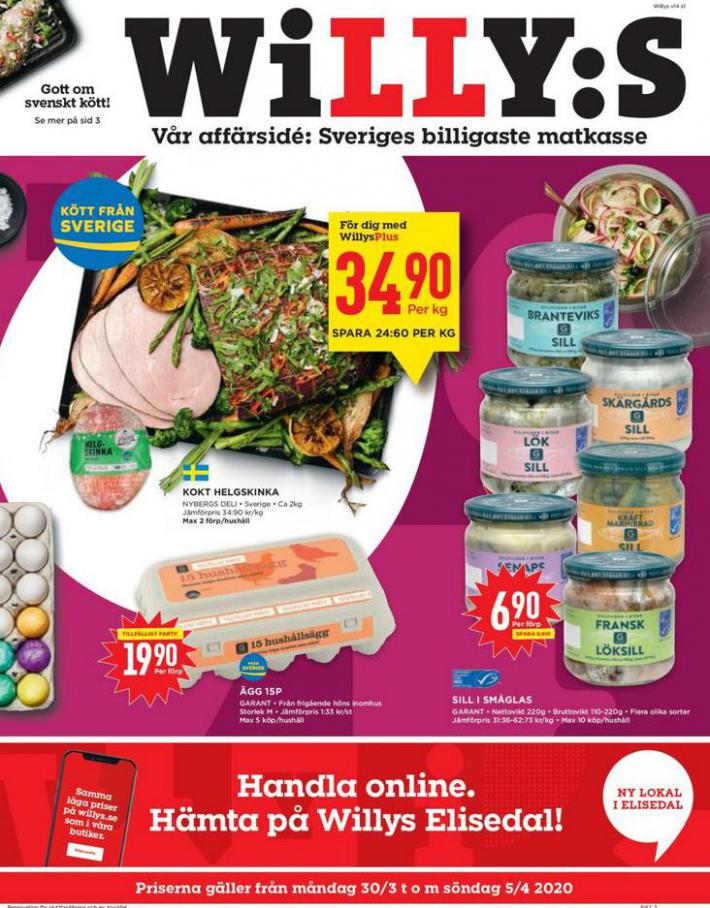 Willys reklamblad . Willys (2020-04-05-2020-04-05)