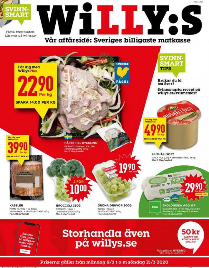 Willys reklamblad . Willys (2020-03-15-2020-03-15)