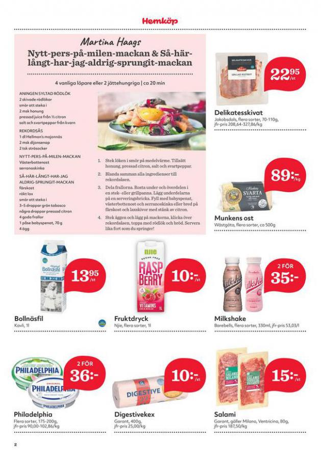 Hemköp reklamblad . Page 2