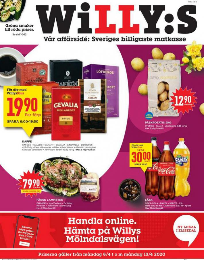 Willys reklamblad . Willys (2020-04-13-2020-04-13)