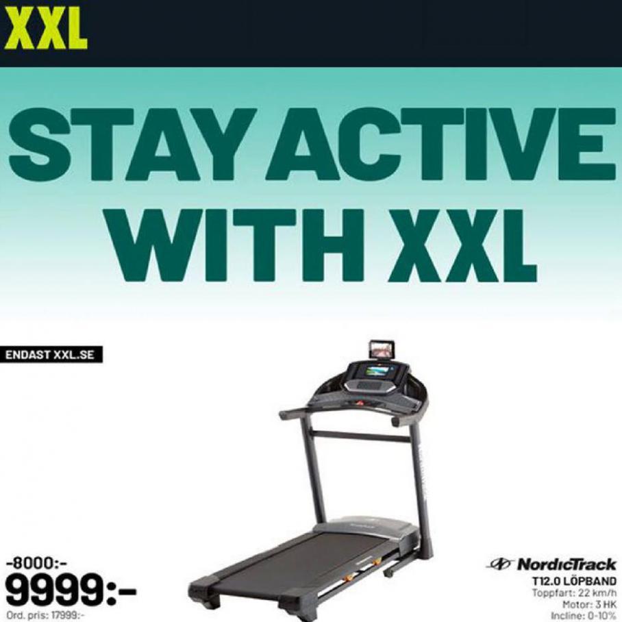 XXL Erbjudande Stay Active with XXL . XXL (2020-04-19-2020-04-19)