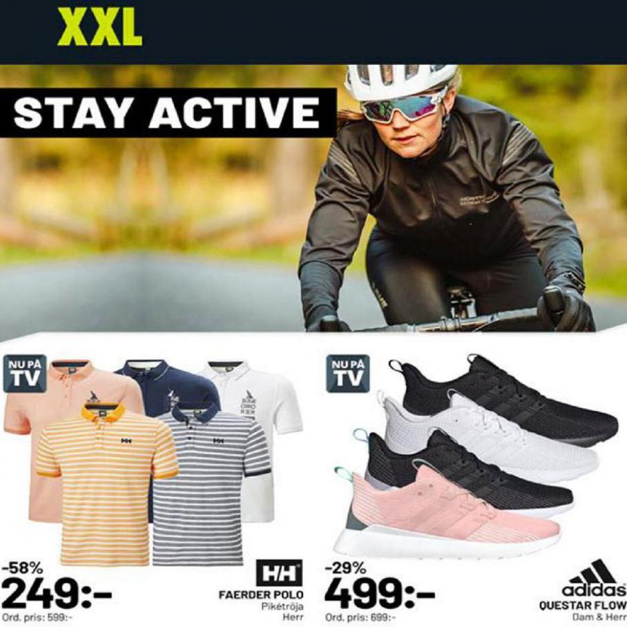 XXL Erbjudande Stay Active . XXL (2020-04-26-2020-04-26)