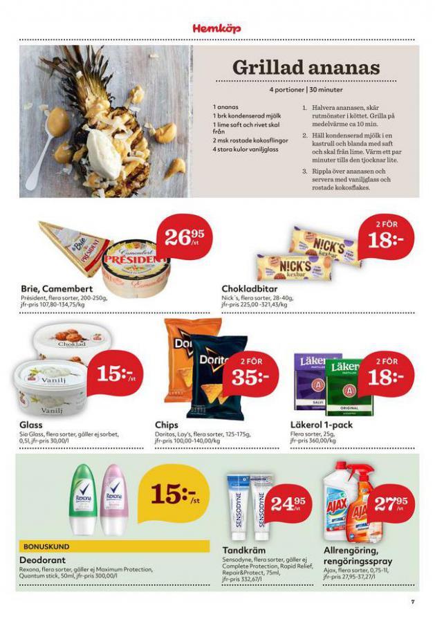 Hemköp reklamblad . Page 8