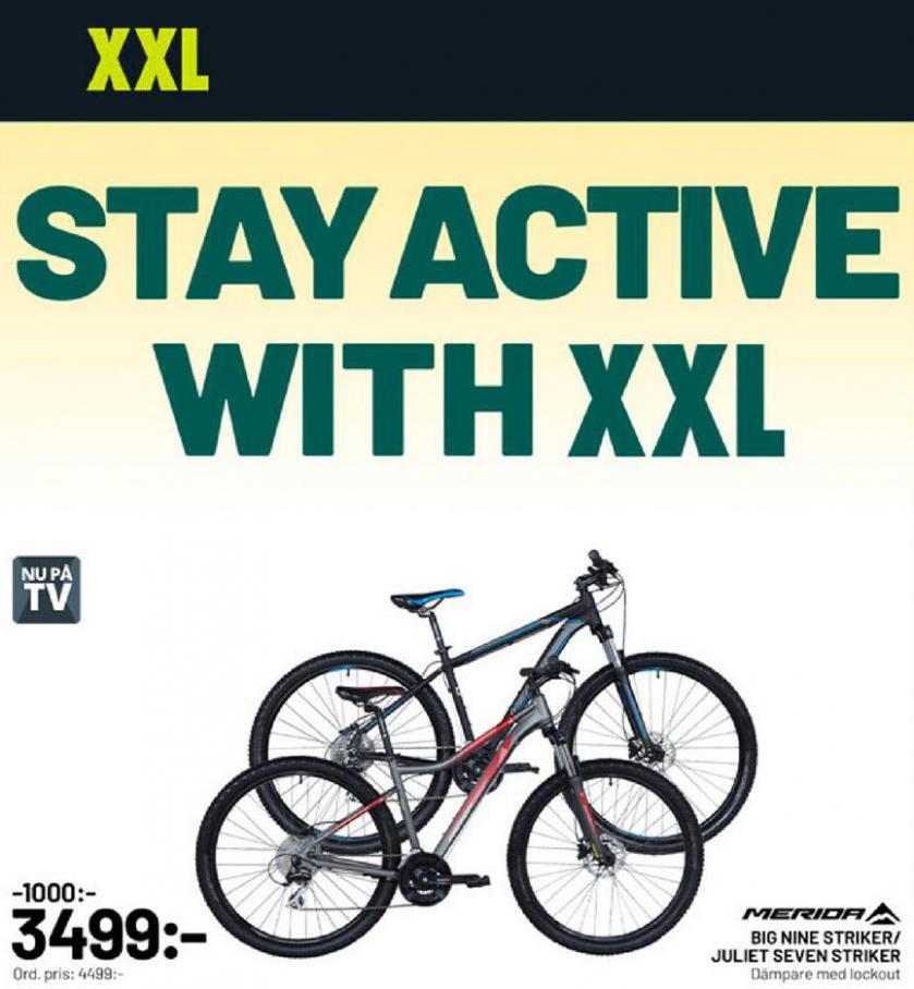 XXL Erbjudande Stay Active . XXL (2020-04-12-2020-04-12)