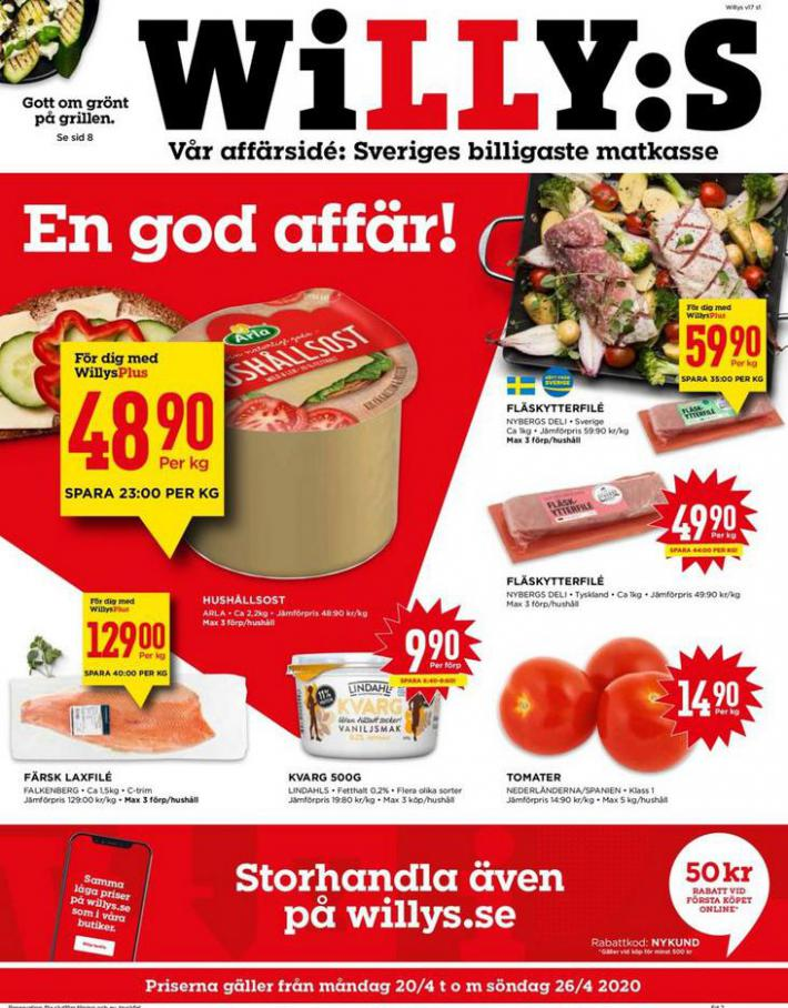 Willys reklamblad . Willys (2020-04-26-2020-04-26)