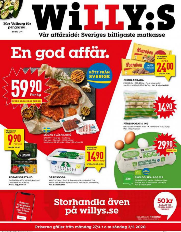 Willys reklamblad . Willys (2020-05-03-2020-05-03)